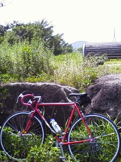自転車でリハビリ